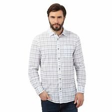 Mantaray Mens White Checked Shirt From Debenhams