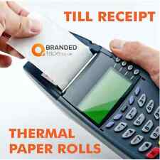 TILL RECEIPT ROLLS 57-58mm THERMAL PAPER,credit card machine,EPOS, Cash Register