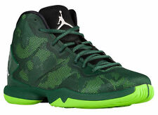NEW MENS NIKE JORDAN SUPERFLY 4 BASKETBALL SHOES TRAINERS GORGE GREEN / WHITE
