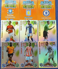 MATCH ATTAX EXTRA 2009/10 FOOTBALL CARDS MAN OF THE MATCH (orange backs)