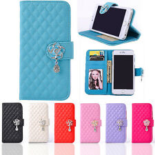 Yeah New Camellia Magnetic Phone Case Stand Flip Leather Cover For Samsung Phone