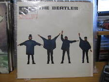 "THE BEATLES HELP VINYL LP RECORDS 12"" ORANGE PARLOPHONE"