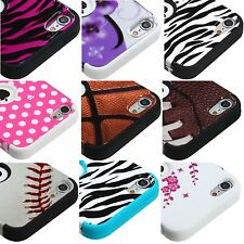 For iPod Touch 5th & 6th Gen - Hybrid Hard & Soft Armor Case Cover Skin Designs