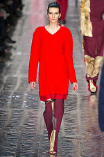 @STUDIO LUXURY NWT £320 Designer ACNE STUDIOS Italian Wool Boucle` DRESS
