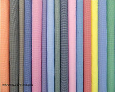 """1/8"""" GINGHAM CHECK POLYCOTTON  FABRIC Per Meter"""