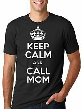 Keep Calm and Call Mom T-shirt Mom Mother Keep Calm Tee Shirt