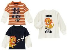 NWT Gymboree Junior Linebacker Football/Lion Shirts/Tops/Tees-2T 3T 4T 5T