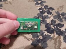 POKEMON LEAFGREEN VERSION NINTENDO GAME BOY ADVANCE GBA