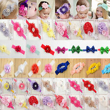 P hot Toddler Newborn Baby Girl Rose Flower Headband Hair Band Hair Accessories