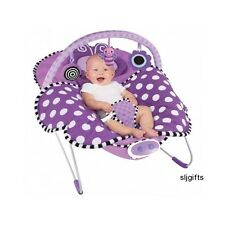 Baby Bouncer Musical Chair Vibrating Seat Infant Girl Newborn Lullabye Gifts NEW
