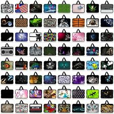 "17"" 17.3"" Neoprene Laptop Carry Bag Case Sleeve Computer PC Cover + Hide Handle"