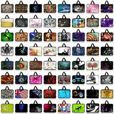 """15"""" 15.4"""" 15.6"""" Neoprene Soft Laptop Case Sleeve Bag Cover Pouch +Hide Handle"""