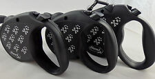 Flexi cord retractable leash matching  Lupine  collars & harnesses for small dog