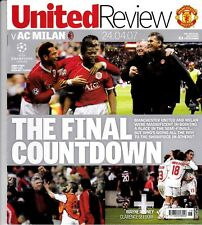 Manchester United Home Programmes 2006/2007