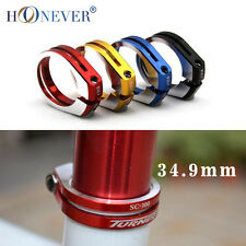 34.9mm 5Colors Alloy MTB Road Bike Bicycle Seatpost Clamp Lock Seat Post Tube