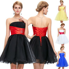 Short Mini Cocktail Party Ball Gown Bridesmaid Dress Prom Evening Dresses 2-18