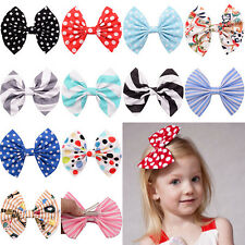 1 Pcs Hot Cute Bow Butterfly Hair Clip Polka Dot Head Hair Acessories For Girls
