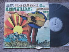 "THE HEAVY GUITARS OF GLEN CAMPBELL MASON WILLIAMS  VINYL LP 12"" RECORD"