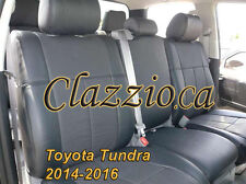 2014-2016 TOYOTA TUNDRA CREW MAX | CLAZZIO LEATHER SEAT COVER (1ST+2ND ROWS)
