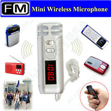 FM Radio Wireless Microphone MIC For Megaphone Loudspeaker Tour Guide Conference