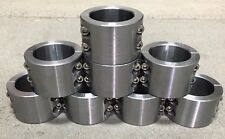 """8 - 2 Pc Steel Universal Weld On Fabrication Clamps 1.75"""" - 4 Blt  Roll Bar Cage"""