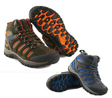 Mens Outdoor Leather High Top Climbing Hiking Sports Running Athletic Shoes  6sz