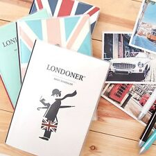 London Diary Journal Planner Organizer 60 Weekly & 12 Monthly Plans Undated