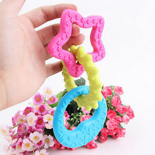 Dog Chew Toys Teether Chews Fun For Puppy 3 Teething Ring Puppy Play Fetch Toys