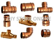 Copper Soldering 22mm Stop End, Elbows, Tee, Street Elbow Straight Coupling Gas