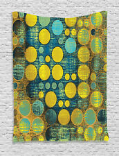 Polka Dots Pattern 60s Style Vintage Groovy Decor Artprint Wall Hanging Tapestry