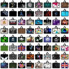 "Brilliant Butterfly 17"" 17.3"" Laptop Carry Bag Case Pouch Sleeve PC Cover+Handle"
