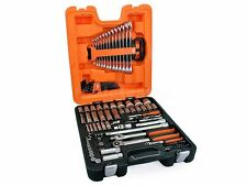 """New Bahco 103 Piece 1/4"""" & 1/2"""" Deep Socket & Spanner Set ships to NZ only"""