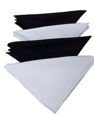 12PK Highend Cloth Napkins Dinner Napkins Restaurant Cloth Napkins Hemmed Edges