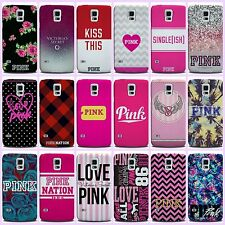 Victoria's Secret PINK 1986 PC Hard Case Cover For Samsung Galaxy A3 A5 A7 S6 S7