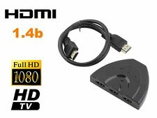 1080P 3 Port HDMI Splitter Cable Multi Switch Switcher For HDTV XBOX PS3  SY