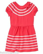 NWT Gymboree CIAO PUPPY Girls Size 6,7,10,12 Striped Bow Sweater Dress