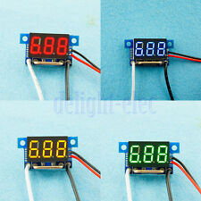 "0.36"" DC 0-5A/10/50/100A DC Current Amp Meter Panel Amp Digital Gauge Display DH"