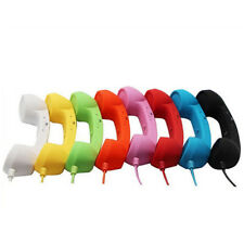 Large 3.5mm Mic Retro Cell Telephone Handset Phone Classic Receiver For Iphone