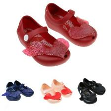 BABY KIDS INFANTS GIRLS CUTE HEART JELLY SHOES SUMMER BEACH SANDAL RAIN SHOE NEW