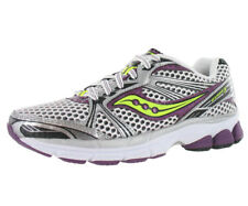 Saucony Progrid Guide 5 Womens Running Shoes White/purple/lime Size