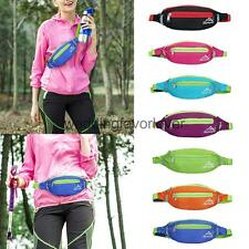 Sports Fanny Pack Belt Belly Waist Bum Bag for Fitness Running Jogging Cycling