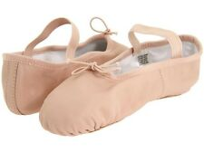 Bloch Dansoft Child Pink Leather Full Sole Ballet Slippers