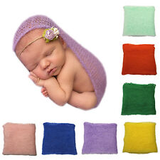 Crochet Knitted Cocoon Baby Photo Accessories Photography Prop Backdrop Handy