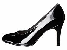 Clarks Heavenly Star Black Women's Classic Patent Leather Pump 22164