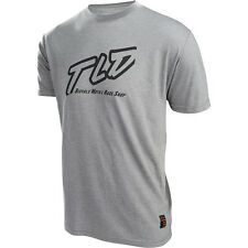 Troy Lee Designs Mx NEW Just Right Motocross T-Shirt Grey TLD Mens Tee Shirt