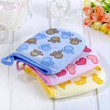 Baby Kid Cartoon Soft Bathroom Mitt Glove Rub Shower Sponge Wash Cloth Towel Hot