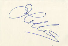 Joan Collins - Alexis Carrington in Dynasty - Signed White Card.