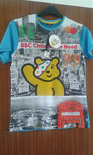 BNWT BBC CHILDREN IN NEED PUDSEY T SHIRT AGE 9-10 13-14 YEARS