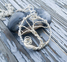 Silver Tree of LIfe Necklace - Tree of life - Tree Necklace - Tree Pendant