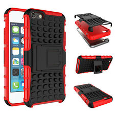Hybrid Shockproof Rugged Rubber Hard Case Stand Cover For Apple iPod Touch 5 6